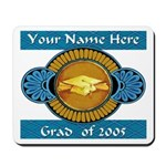 College Grad Personalized Mousepad