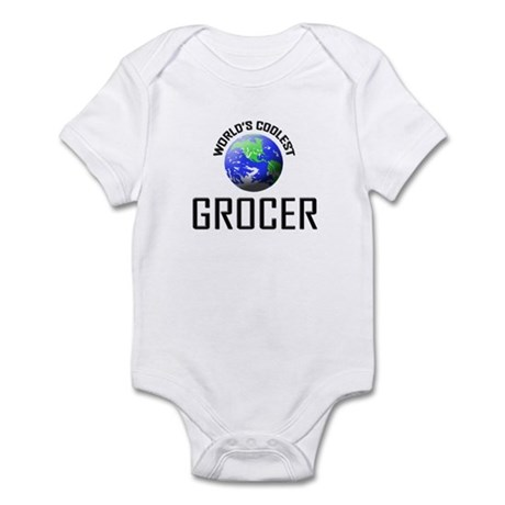 World's Coolest GROCER Infant Bodysuit