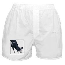 Short Giant Boot Framed Left Boxer Shorts