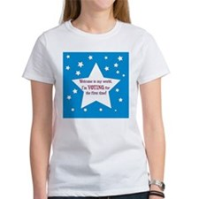First Time Voter Tee