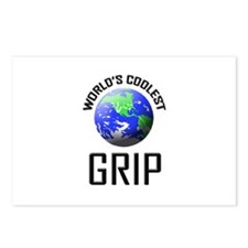 World's Coolest GRIP Postcards (Package of 8)