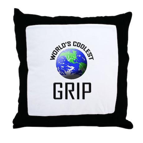 World's Coolest GRIP Throw Pillow