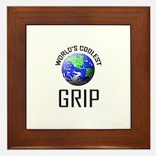 World's Coolest GRIP Framed Tile