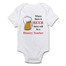 History Teacher Infant Bodysuit