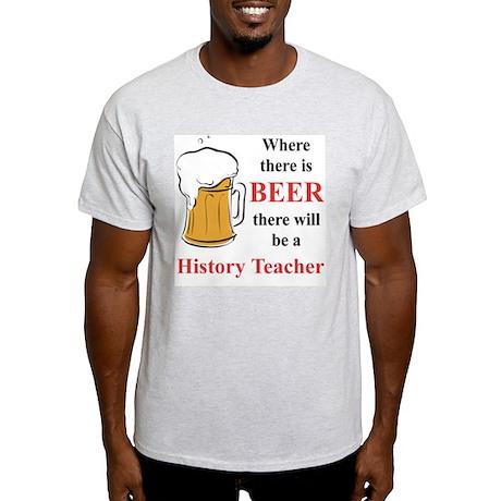 History Teacher Light T-Shirt