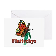 Flutterby Greeting Cards (Pk of 20)