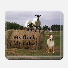 My Flock, My Rules Mousepad