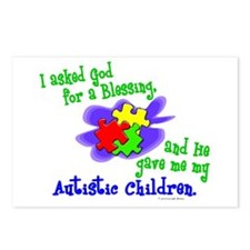 Blessing 2 (Autistic Children) Postcards (Package