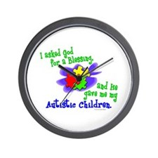 Blessing 2 (Autistic Children) Wall Clock