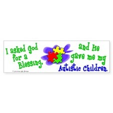 Blessing 2 (Autistic Children) Bumper Bumper Sticker