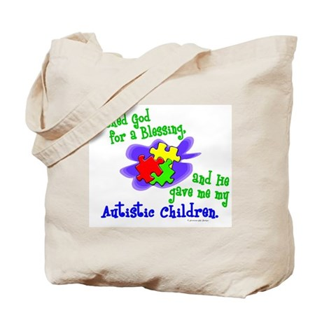 Blessing 2 (Autistic Children) Tote Bag