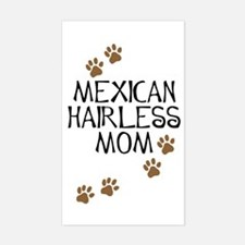 Mexican Hairless Mom Rectangle Decal