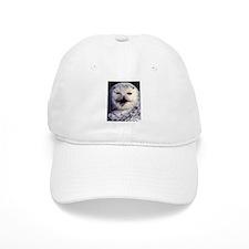 Snow Owl Baseball Cap
