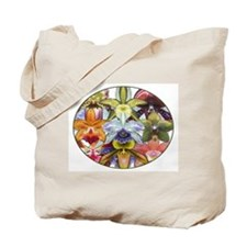 Colorful Orchids Tote Bag