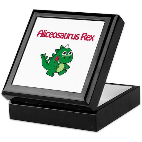 Aliceosaurus Rex Keepsake Box