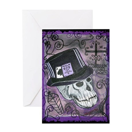 The Baron Samedi Greeting Card