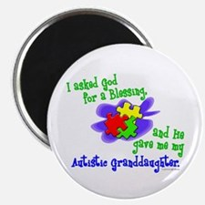 Blessing 2 (Autistic Granddaughter) Magnet