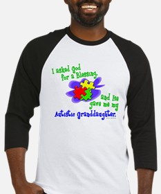 Blessing 2 (Autistic Granddaughter) Baseball Jerse