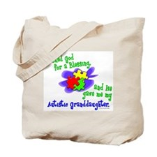 Blessing 2 (Autistic Granddaughter) Tote Bag