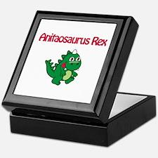 Anitaosaurus Rex Keepsake Box