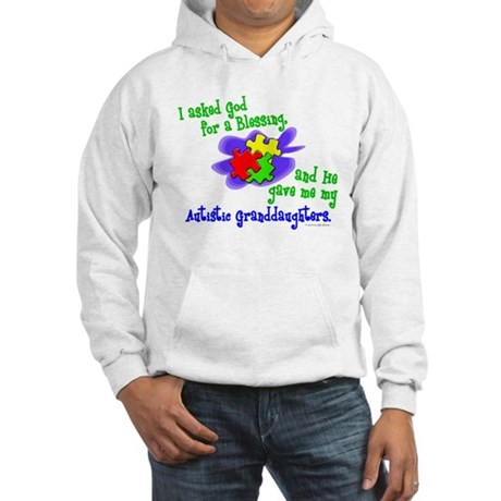 Blessing 2 (Autistic Granddaughters) Hooded Sweats