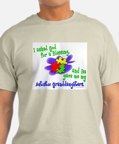 Blessing 2 (Autistic Granddaughters) T-Shirt