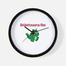 Bridgetosaurus Rex Wall Clock