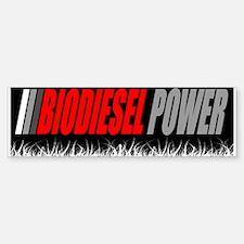 Biodiesel Power Bumper Bumper Bumper Sticker