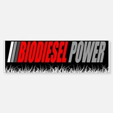 Biodiesel Power Bumper Stickers