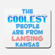 Coolest: Lansing, KS Mousepad
