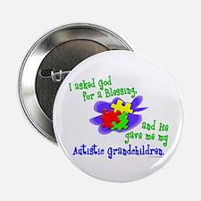 "Blessing 2 (Autistic Grandchildren) 2.25"" Button ("