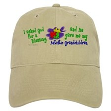 Blessing 2 (Autistic Grandchildren) Baseball Cap