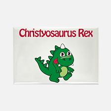 Christyosaurus Rex Rectangle Magnet