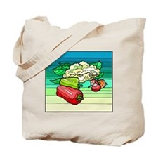 colorful Bell Peppers Tote Bag