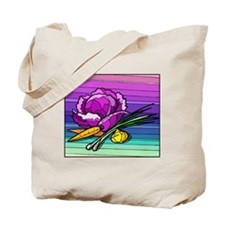 colorful Cabbage 4 Tote Bag