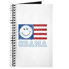 Obama Smiley Flag Journal