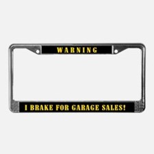 Garage Sale License Plate Frame