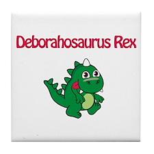 Deborahosaurus Rex Tile Coaster