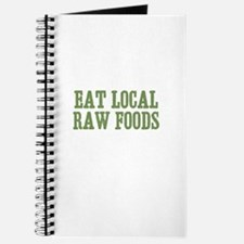 Eat Local Raw Foods Journal