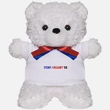 ITCHY / HILLARY '08 Teddy Bear