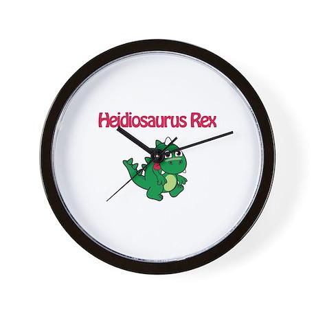 Heidiosaurus Rex Wall Clock