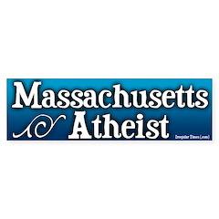 Massachusetts Atheist Bumper Bumper Sticker
