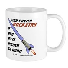 money to burn Coffee Mug