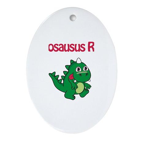 Jillosaurus Rex Oval Ornament