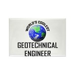 World's Coolest GEOTECHNICAL ENGINEER Rectangle Ma