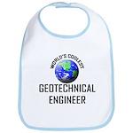 World's Coolest GEOTECHNICAL ENGINEER Bib