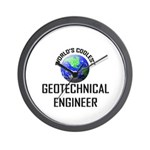World's Coolest GEOTECHNICAL ENGINEER Wall Clock