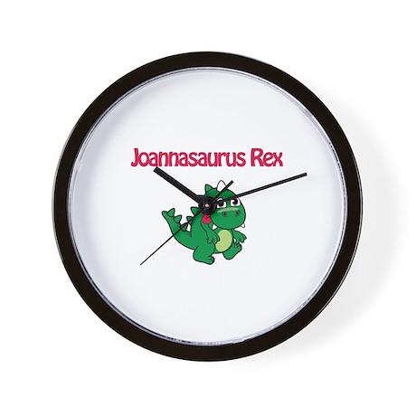 Joannaosaurus Rex Wall Clock