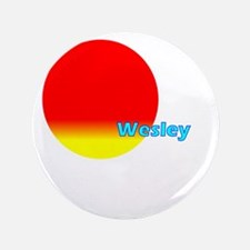 "Wesley 3.5"" Button"