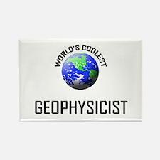 World's Coolest GEOPHYSICIST Rectangle Magnet